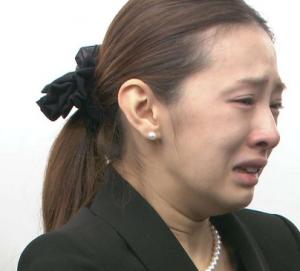 北川景子 画像 泣き顔