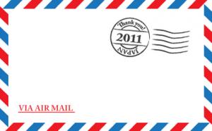 エアメールの日本へ送る時の書き方は?通常のハガキや封筒が使用可能!