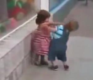 赤ちゃんの情熱的な恋のアプローチ